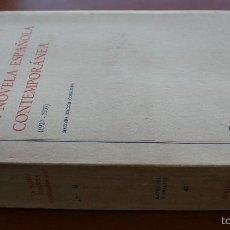 Libros de segunda mano: LIBRO ESTUDIO: LA NOVELA ESPAÑOLA CONTEMPORANEA. (1927-1939) ESTUDIOS Y ENSAYOS. EUGENIO G. DE ROA.. Lote 55402122