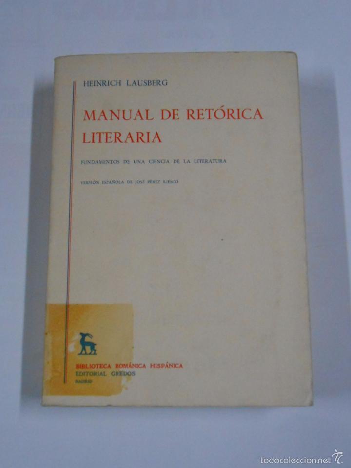 Manual de retórica española: antonio azaustre galiana, juan casas.