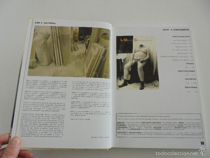 Libros de segunda mano: LA MAQUINA CONTEMPORANEA REVISTA DE ARTE Y CULTURA Nº 1 VERANO DE 2004. VER FOTOGRAFIAS ADJUNTAS. - Foto 8 - 56108820