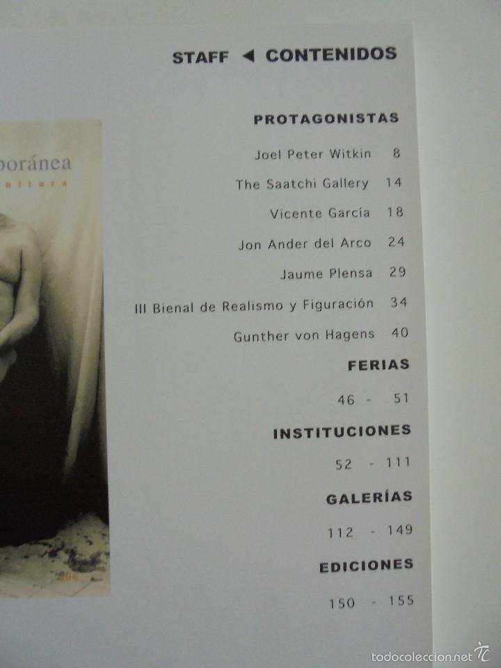 Libros de segunda mano: LA MAQUINA CONTEMPORANEA REVISTA DE ARTE Y CULTURA Nº 1 VERANO DE 2004. VER FOTOGRAFIAS ADJUNTAS. - Foto 9 - 56108820