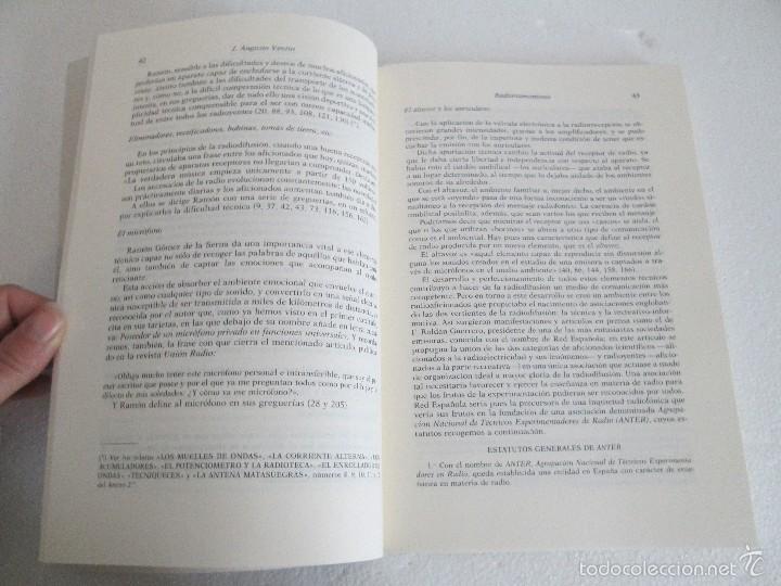 Libros de segunda mano: RADIORRAMONISMO. J. AUGUSTO VENTIN PEREIRA. ANTOLOGIA Y ESTUDIO DE TEXTOS RADIOFONICOS R.GOMEZ SERNA - Foto 12 - 56234171