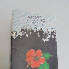 Libros de segunda mano: PALABRAS DEL 27. NUMERO 1. VER FOTOGRAFIAS ADJUNTAS.. Lote 56279978