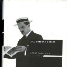 Libros de segunda mano: ORTEGA Y GASSET, JOSÉ. OBRAS COMPLETAS. TAURUS. TOMO I 1902-1915. Lote 56621880