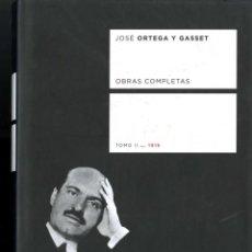 Libros de segunda mano: ORTEGA Y GASSET, JOSE. OBRAS COMPLETAS. TAURUS. TOMO II. 1916. Lote 56621919