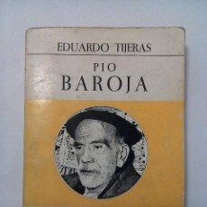 Libros de segunda mano: PÍO BAROJA - TIJERAS, EDUARDO. Lote 56659324