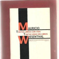 Libros de segunda mano - PREGON DE LA 34 FERIA DE LIBRO ANTIGUO DE SEVILLA por MAURICIO WIESENTHAL, Sevilla 2011 .... - 57500507