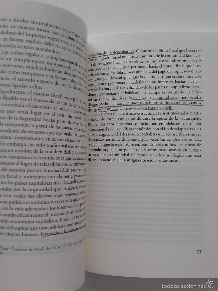 Libros de segunda mano: POR UNA OPOSICION QUE SE OPONGA - JOSE MANUEL NAREDO - ED. ANAGRAMA - Foto 2 - 57608403