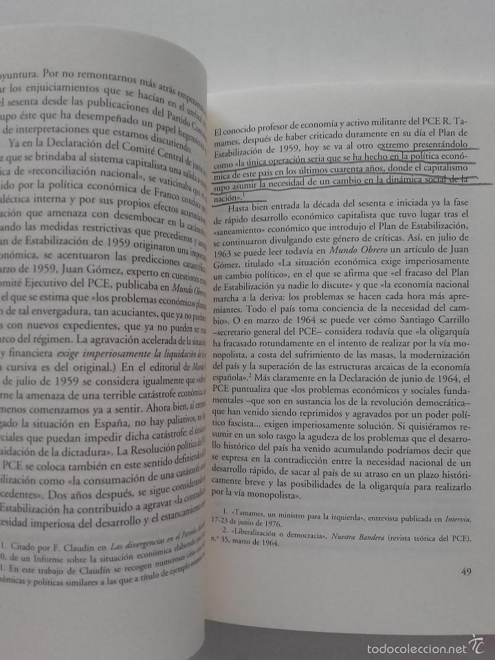 Libros de segunda mano: POR UNA OPOSICION QUE SE OPONGA - JOSE MANUEL NAREDO - ED. ANAGRAMA - Foto 3 - 57608403