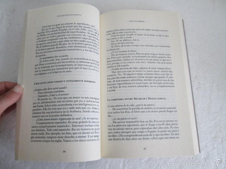 Libros de segunda mano: JESUS QUINTERO. ENTREVISTA. EDICION AGUILAR. 2007. VER FOTOGRAFIAS ADJUNTAS - Foto 11 - 57672499