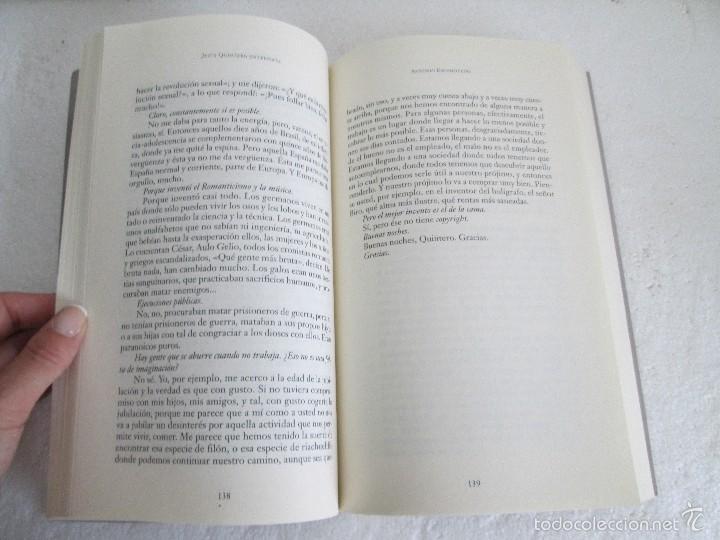 Libros de segunda mano: JESUS QUINTERO. ENTREVISTA. EDICION AGUILAR. 2007. VER FOTOGRAFIAS ADJUNTAS - Foto 12 - 57672499