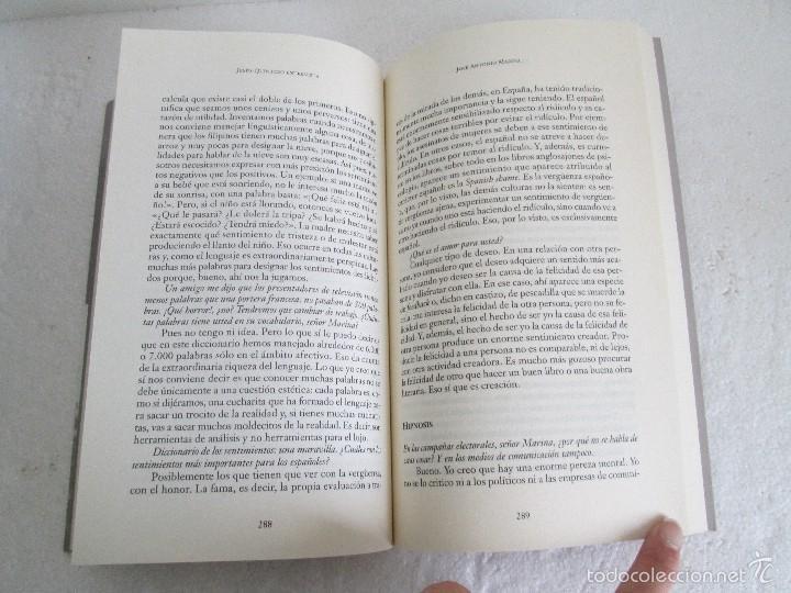 Libros de segunda mano: JESUS QUINTERO. ENTREVISTA. EDICION AGUILAR. 2007. VER FOTOGRAFIAS ADJUNTAS - Foto 15 - 57672499