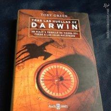 Libros de segunda mano: TRAS LAS HUELLAS DE DARWIN. TOBY GREEN. Lote 58474277
