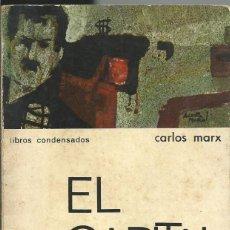 Libros de segunda mano: CARLOS MARX . EL CAPITAL. ESTUDIO, CRITICA Y COMENTARIOS.COL LIBROS CONDESADOS Nº 13.MATEU 1966 RARO. Lote 58529175