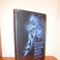 Livres d'occasion: INFORME SOBRE CIEGOS - ERNESTO SABATO / LUIS SCAFATI (ILUSTRACIONES) - LIBROS DEL ZORRO ROJO - NUEVO. Lote 62092708