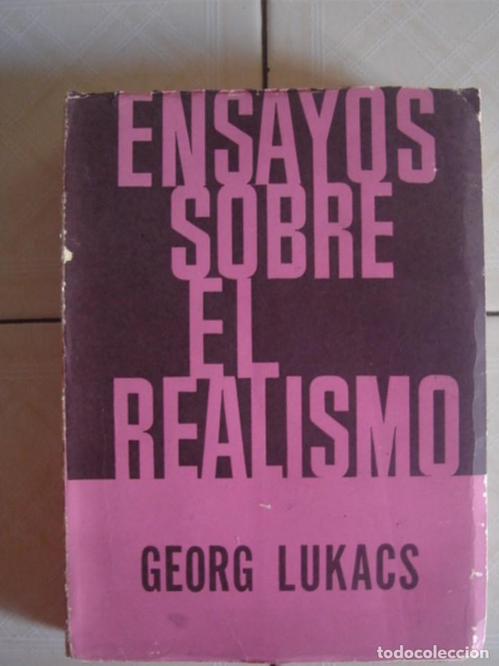 ENSAYOS SOBRE EL REALISMO, DE GEORG LUKACS. EDICIONES SIGLO XX, BUENOS AIRES, 1965 (Libros de Segunda Mano (posteriores a 1936) - Literatura - Ensayo)