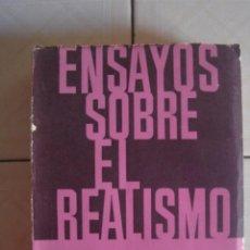 Libros de segunda mano: ENSAYOS SOBRE EL REALISMO, DE GEORG LUKACS. EDICIONES SIGLO XX, BUENOS AIRES, 1965. Lote 117880062