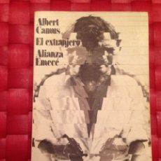 """Libros de segunda mano: LIBRO. ALBERT CAMUS """" EL EXTRANJERO """". Lote 66035070"""