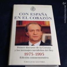 Libros de segunda mano: CON ESPAÑA EN EL CORAZÓN. Lote 69088289