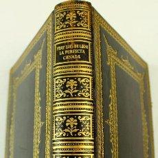 Libros de segunda mano: L-87. FRAY LUIS DE LEON. LA PERFECTA CASADA. MONTANER Y SIMON. BARCELONA 1942. ILUSTRADA.. Lote 70547789