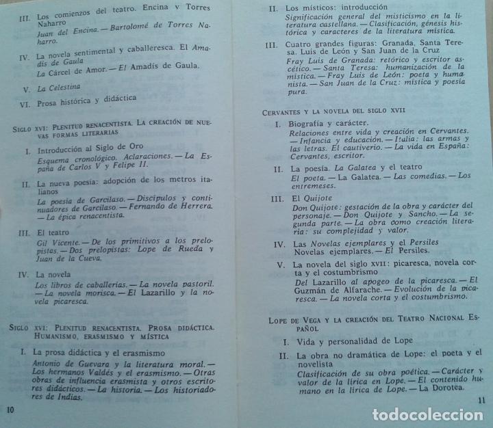 Libros de segunda mano: Historia de la Literatura Española Volumen 1 y 2/Ángel del Río - Bruguera - Foto 4 - 57722785
