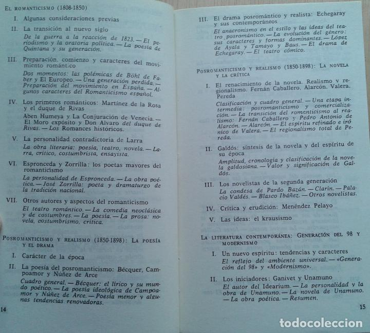 Libros de segunda mano: Historia de la Literatura Española Volumen 1 y 2/Ángel del Río - Bruguera - Foto 6 - 57722785