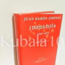 Libros de segunda mano: IDEOLOJIA · (1897-1957) ·· JUAN RAMON JIMENEZ ·· METAMORFOSIS, IV ·· ED. ANTHROPOS. Lote 161395388