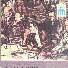 Libros de segunda mano: LITERATURA ESPAÑOLA CONTEMPORANEA F. LÁZARO E. CORREA ANAYA . Lote 76212155