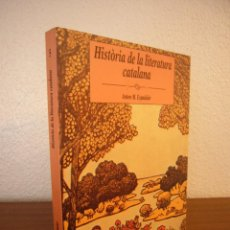 Libros de segunda mano: ANTON M. ESPADALER: HISTÒRIA DE LA LITERATURA CATALANA (BARCANOVA, 1995) MOLT BON ESTAT. RAR.. Lote 289486008