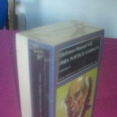 Libros de segunda mano: IDELFONSO MANUEL GIL -OBRA POETICA COMPLETA 2 VOLUMENES SIN ABRIR LARUMBE EXCELENTE ESTADO. Lote 81319232