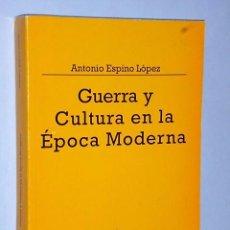 Libros de segunda mano: GUERRA Y CULTURA EN LA ÉPOCA MODERNA. Lote 83345404