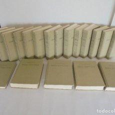 Libros de segunda mano: EUGENIO MARIA DE HOSTOS. OBRAS COMPLETAS. 19 TOMOS. EDITORIAL COQUI 1969. VER FOTOGRAFIAS ADJUNTAS.. Lote 83795964