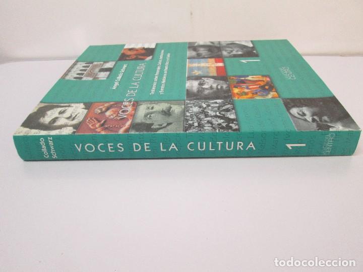 Libros de segunda mano: VOCES DE LA CULTURA. TOMO 1 Y 2. ANGEL COLLADO SCHWARZ. DEDICADOS POR EL AUTOR. VER FOTOGRAFIAS - Foto 3 - 84635444
