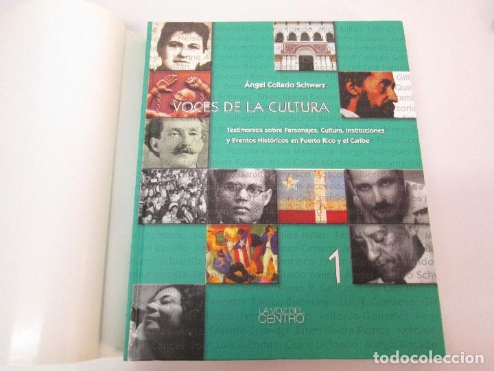 Libros de segunda mano: VOCES DE LA CULTURA. TOMO 1 Y 2. ANGEL COLLADO SCHWARZ. DEDICADOS POR EL AUTOR. VER FOTOGRAFIAS - Foto 8 - 84635444