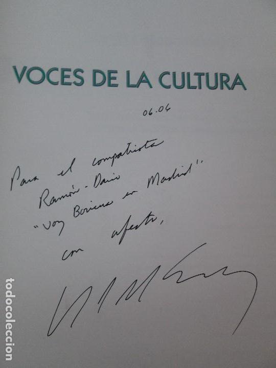 Libros de segunda mano: VOCES DE LA CULTURA. TOMO 1 Y 2. ANGEL COLLADO SCHWARZ. DEDICADOS POR EL AUTOR. VER FOTOGRAFIAS - Foto 9 - 84635444