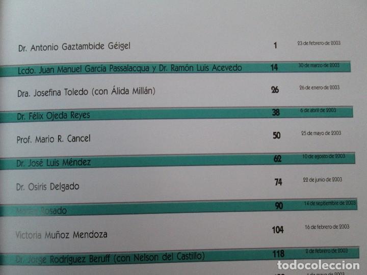 Libros de segunda mano: VOCES DE LA CULTURA. TOMO 1 Y 2. ANGEL COLLADO SCHWARZ. DEDICADOS POR EL AUTOR. VER FOTOGRAFIAS - Foto 14 - 84635444