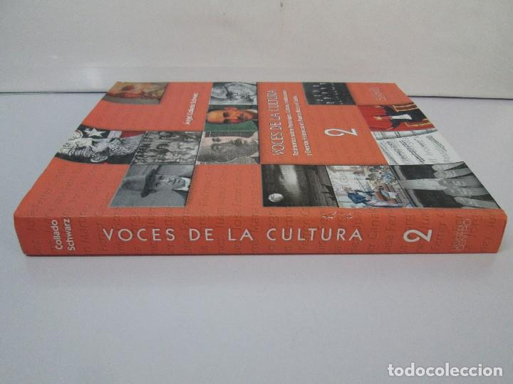 Libros de segunda mano: VOCES DE LA CULTURA. TOMO 1 Y 2. ANGEL COLLADO SCHWARZ. DEDICADOS POR EL AUTOR. VER FOTOGRAFIAS - Foto 36 - 84635444