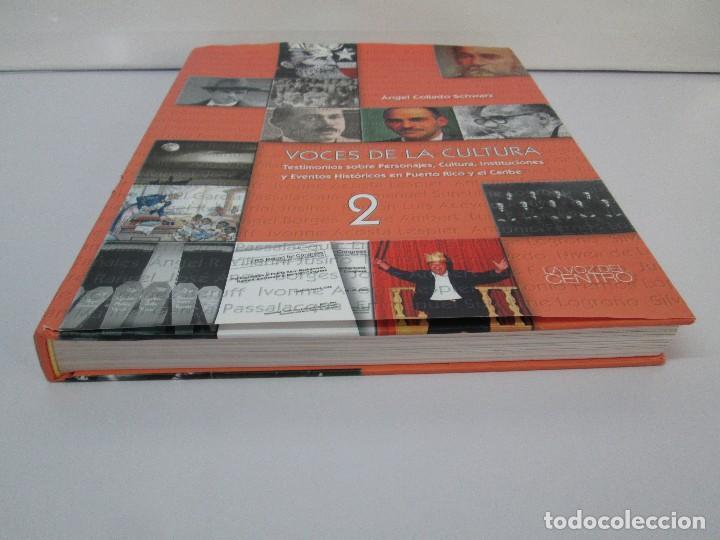 Libros de segunda mano: VOCES DE LA CULTURA. TOMO 1 Y 2. ANGEL COLLADO SCHWARZ. DEDICADOS POR EL AUTOR. VER FOTOGRAFIAS - Foto 37 - 84635444