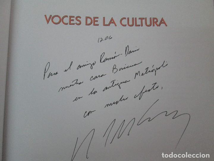 Libros de segunda mano: VOCES DE LA CULTURA. TOMO 1 Y 2. ANGEL COLLADO SCHWARZ. DEDICADOS POR EL AUTOR. VER FOTOGRAFIAS - Foto 42 - 84635444