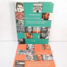 Libros de segunda mano: VOCES DE LA CULTURA. TOMO 1 Y 2. ANGEL COLLADO SCHWARZ. DEDICADOS POR EL AUTOR. VER FOTOGRAFIAS. Lote 84635444