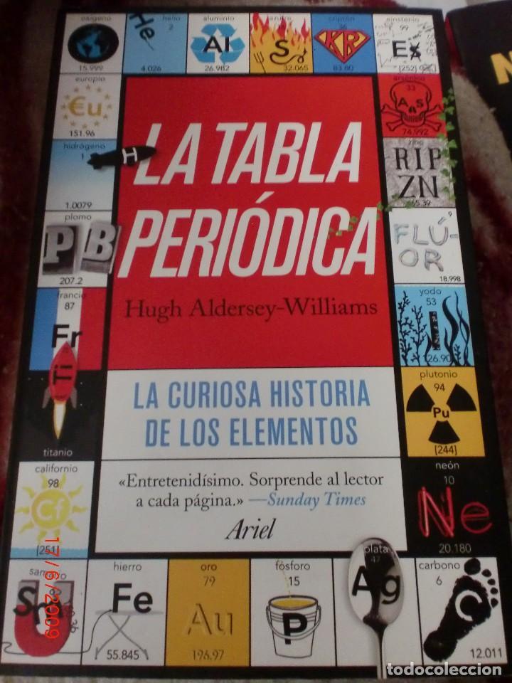 La tabla periodica la curiosa historia de los comprar libros de la tabla periodica la curiosa historia de los elementos hugh aldersey urtaz Choice Image
