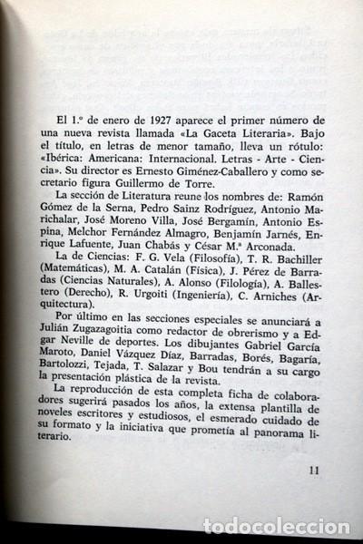 Libros de segunda mano: LA IDEOLOGIA DE LOS ESCRITORES - LITERATURA Y POLITICA EN GACETA LITERARIA (1927 - 1932) - BASSOLAS - Foto 3 - 86258400