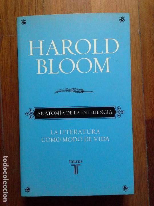 harold bloom - anatomía de la influencia - la l - Comprar Libros de ...