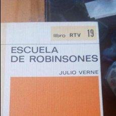 Libros de segunda mano: ESCUELA DE ROBINSONES DE JULIO VERNE - EDITORIAL SALVAT. Lote 88370580