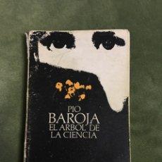 Libros de segunda mano: LIBRO. PIO BAROJA. EL ÁRBOL DE LA CIENCIA. ALIANZA EDITORIAL. Lote 90347838