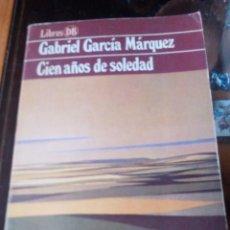 Libros de segunda mano: CIEN AÑOS DE SOLEDAD DE GABRIEL GARCIA MARQUEZ - EDITORIAL ARGOS VERGARA S.A.. Lote 90366808
