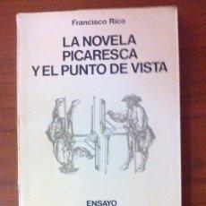 Libros de segunda mano: LA NOVELA PICARESCA Y EL PUNTO DE VISTA. Lote 90807345