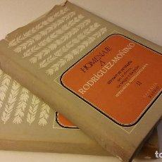 Libros de segunda mano: 1966 - HOMENAJE A RODRÍGUEZ MOÑINO - ESTUDIOS DE ERUDICIÓN QUE LE OFRECEN SUS AMIGOS - 2 TOMOS. Lote 90886700