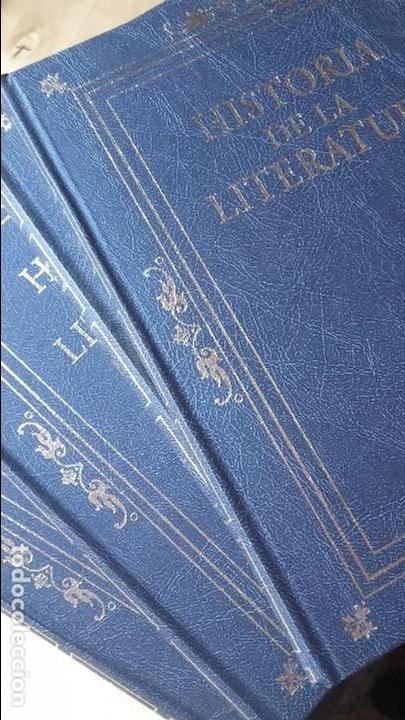 HISTORIA DE LA LITERATURA. 4 TOMOS. COMPLETA, (RBA, 2012) (Libros de Segunda Mano (posteriores a 1936) - Literatura - Ensayo)