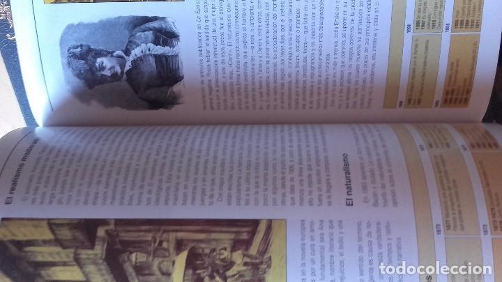 Libros de segunda mano: HISTORIA DE LA LITERATURA. 4 TOMOS. COMPLETA, (RBA, 2012) - Foto 4 - 92843940