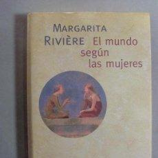 Libros de segunda mano: EL MUNDO DE LAS MUJERES / MARGARITA RIVIÉRE / 2000. Lote 96048095